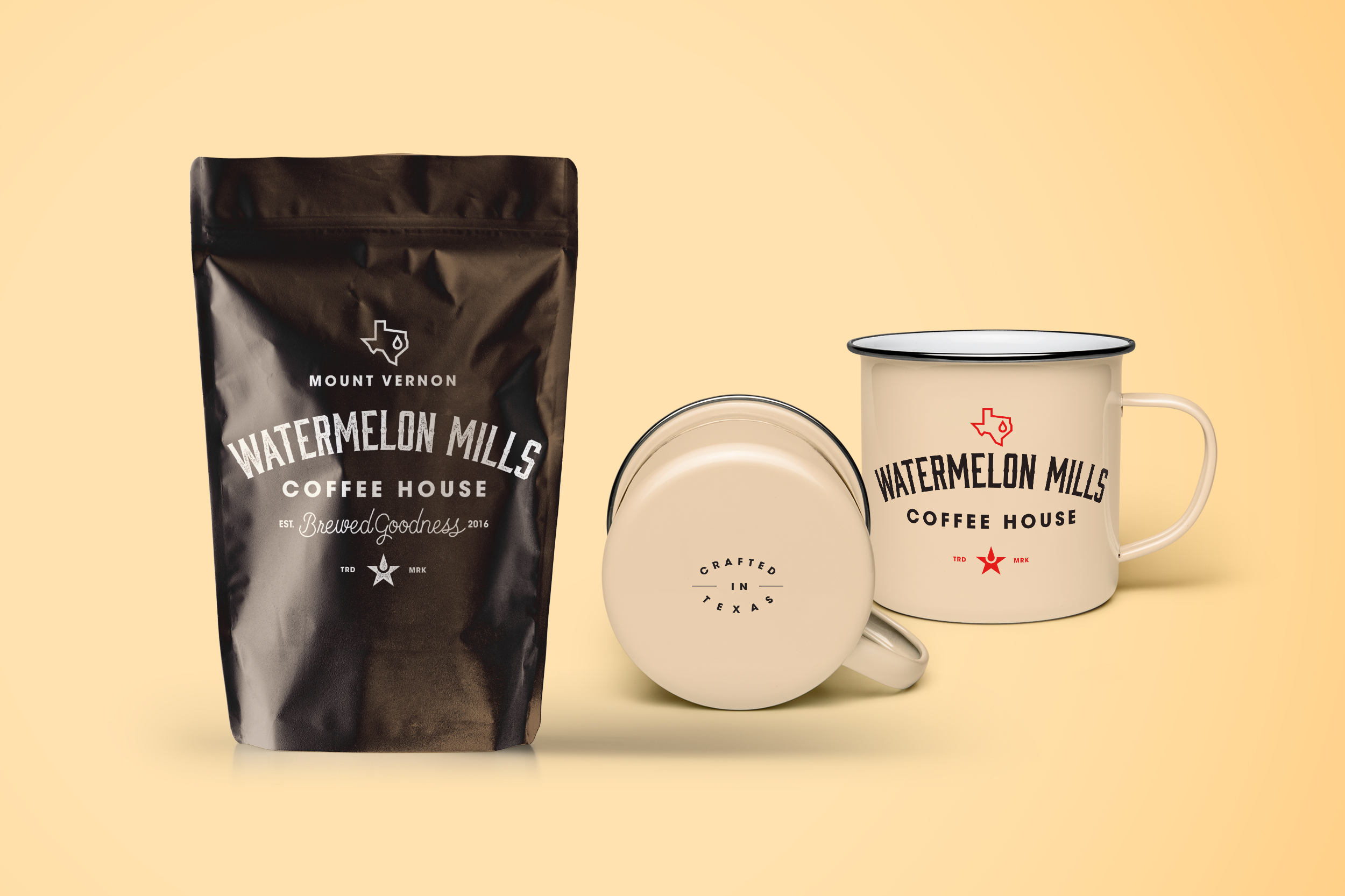 Watermelon Mills conceptual packaging