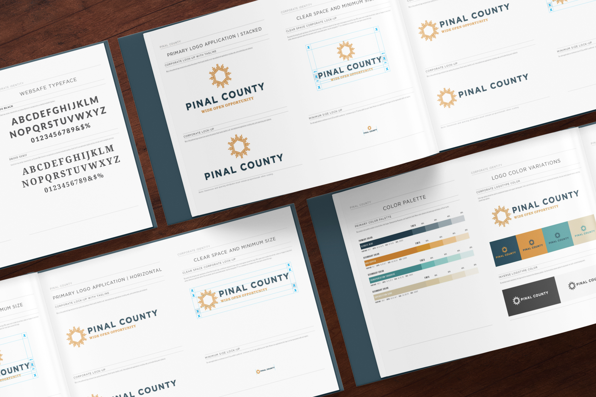 Pinal County brand book