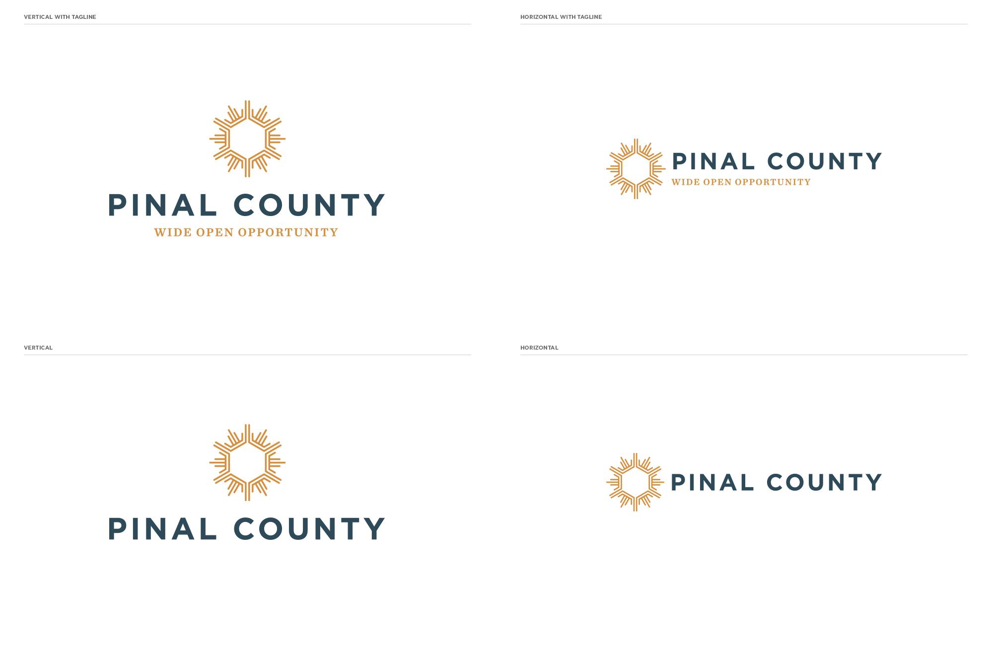 Pinal County logos